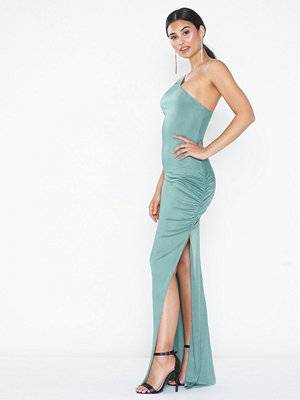 NLY Eve Assymetric Strap Gown