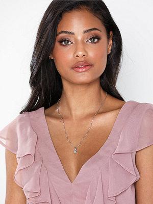 Caroline Svedbom halsband Petite Drop Necklace Silver