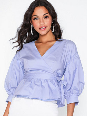 co'couture Wrap Poplin Shirt