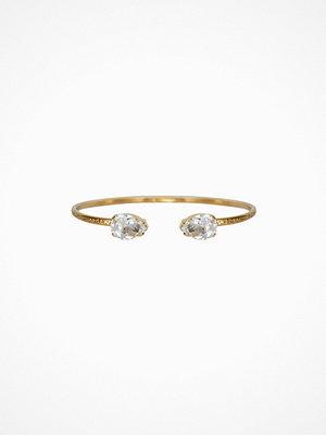 Caroline Svedbom svart smycke PETITE DROP BRACELET