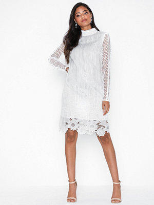 True Decadence Long Sleeve Embroidered Lace Dress