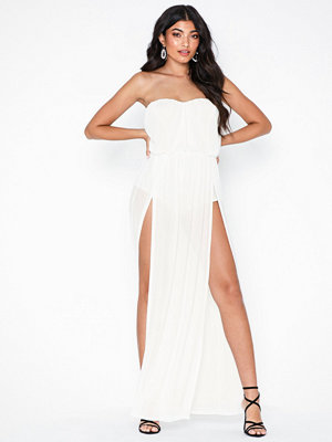 NLY One Slit Bandeau Dress