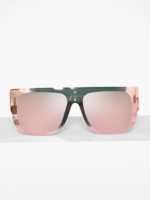 River Island Revo Visor Sunglasses