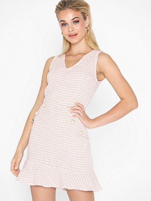 Parisian Boucle Button Detail Dress
