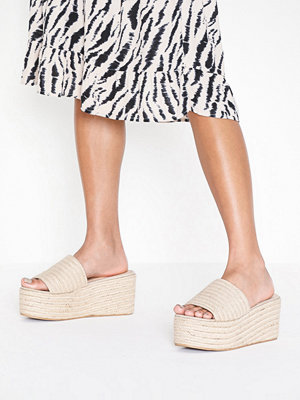 Pumps & klackskor - NLY Shoes Braided Wedge Sandal