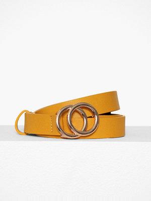 Bälten & skärp - Pieces Pckarren Jeans Belt D2D Mörk Gul