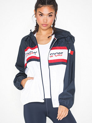 Tommy Sport Windbreaker Chest Logo With Flag
