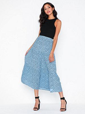 Calvin Klein Jeans Gathered Midi Skirt