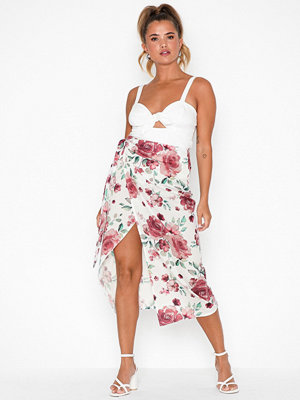 NLY Trend High Slit Wrap Skirt