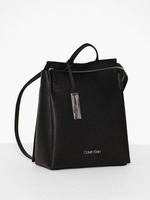 Calvin Klein svart ryggsäck Sided Backpack