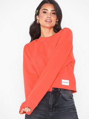 Tröjor - Calvin Klein Jeans Raw Hem Crew Neck