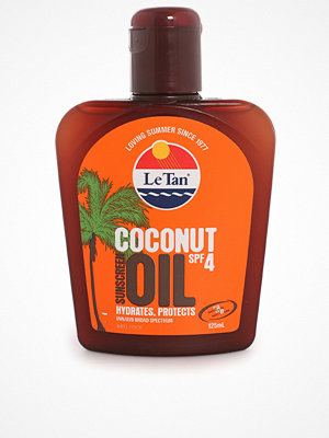 Solning - Le Tan Coconut Oil SPF 4 Transparent