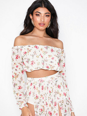 NLY One Mesh Print Top