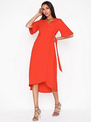 Closet Belted Wrap Dress