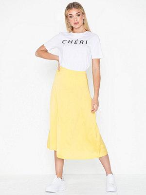 Pieces Pcsandra Hw Midi Skirt D2D