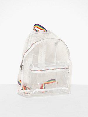 Eastpak vit ryggsäck Padded Pak'r X Pride