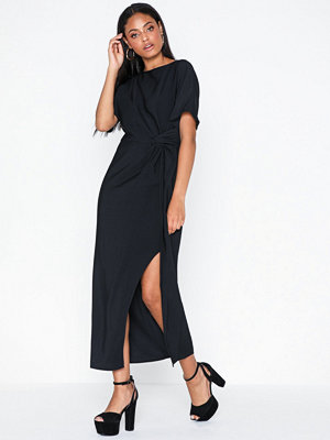 Topshop Navy Midi Dress