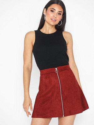 Only Onlea Faux Suede Bonded Skirt Cc Ot