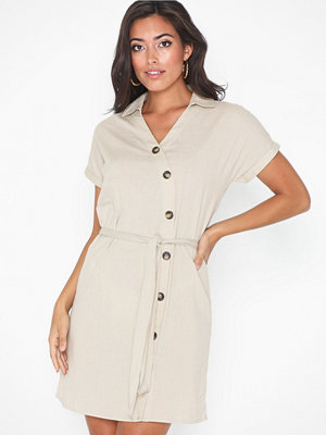 Noisy May Nmline S/S Buttons Dress Fdx