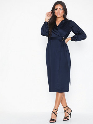 Closet Long Sleeve Midi Dress