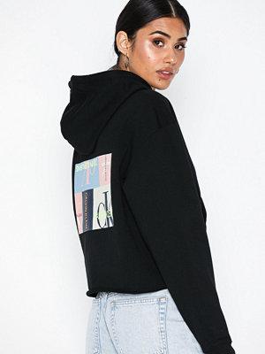Street & luvtröjor - Calvin Klein Jeans Multi Logo Graphic Hoodie
