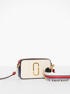 Marc Jacobs vit axelväska Snapshot