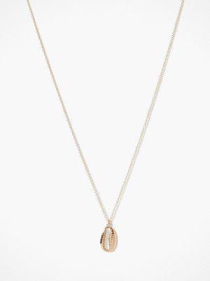 MINT By TIMI halsband Cowrie Shell Long Necklace