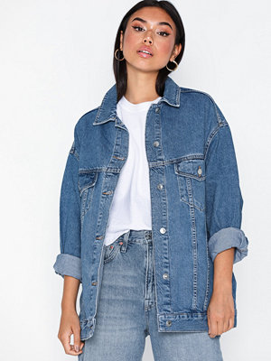 Topshop Dad Oversized Denim Jacket