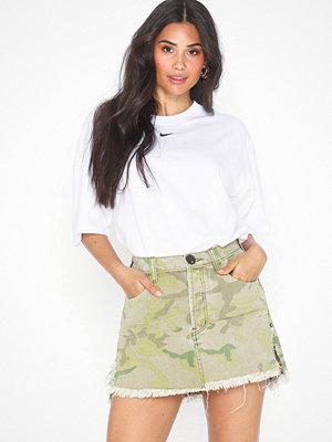Kjolar - One Teaspoon Safari Camo Relaxed Denim Skirt