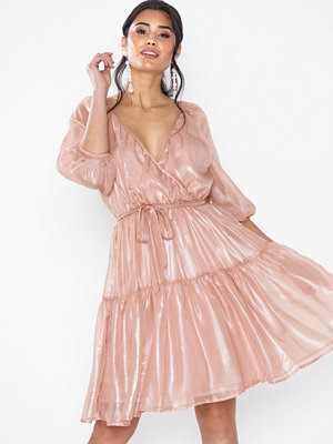 NLY Eve Volume Wrap Dress