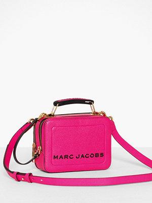 Marc Jacobs rosa axelväska The Box 20