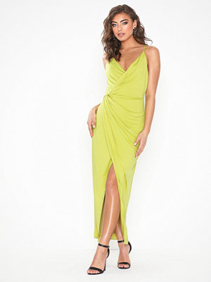 NLY Eve Twisted Slip Gown