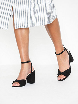Pumps & klackskor - NLY Shoes Twist Heel Sandal Svart
