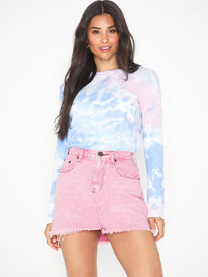One Teaspoon Evil Eye Denim Skirt