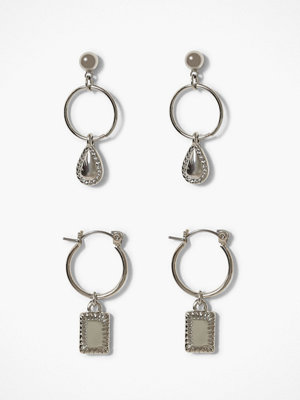 Pieces örhängen Pcjarliny Hoop 2-Pack Earrings D2D