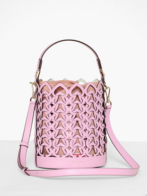 kate spade new york ljuslila axelväska Small Bucket Bag