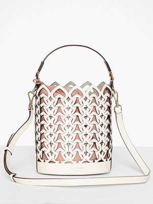 kate spade new york vit axelväska Small Bucket Bag