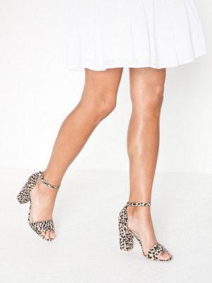 Pumps & klackskor - NLY Shoes Block Heel Sandal Leo