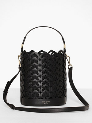 kate spade new york svart axelväska Small Bucket Bag