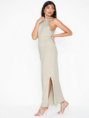 Topshop Knitted Midi Skirt