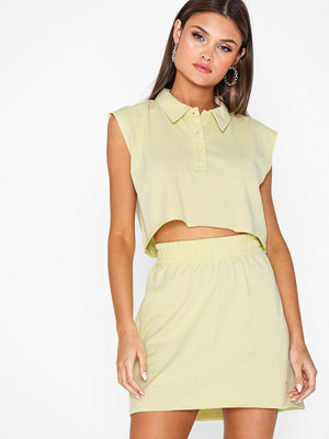 Toppar - Missguided Polo Shirt and Mini Skirt Co Ord