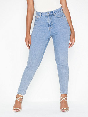 Topshop Bleach Premium Mom Jeans