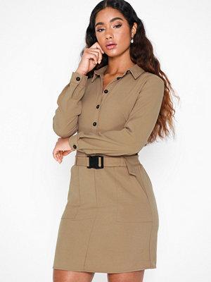Only Onllotus L/S Short Dress Wvn