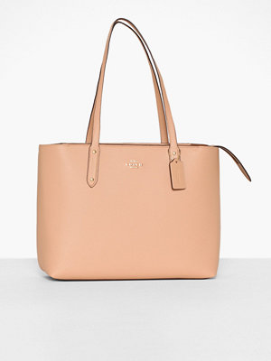 Coach beige väska Central Tote With Zip
