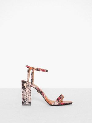 Topshop Snakeskin Strap Sandals