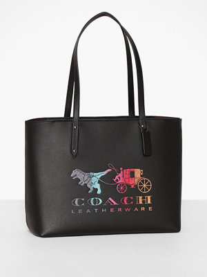 Handväskor - Coach Rexy And Carriage Central Tote With Zip