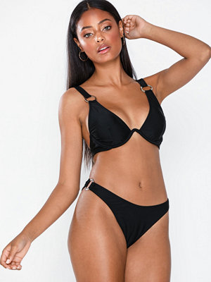 Missguided Ring Detail Triangle Bikini Set