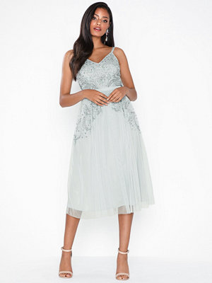 Maya Cami Embellished Midi Dress