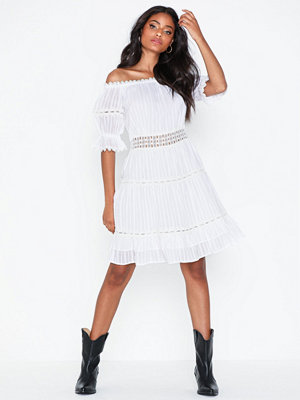 River Island Bardot Lace Waisted Dress