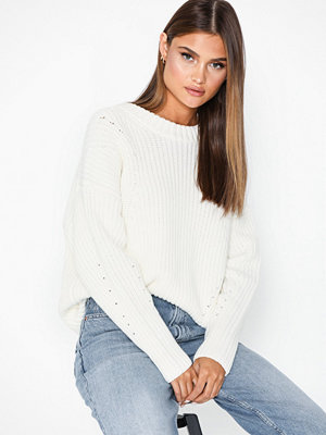 Selected Femme Slfmira Ls Knit O-Neck B